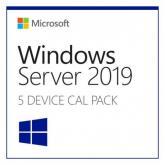 Microsoft Windows Server CAL 2019 English 1pk DSP OEI 5 Clt Device CAL