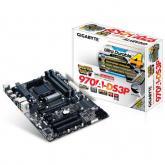 Placa de baza Gigabyte 970A-DS3P, AMD 970 + AMD SB950, socket AM3+, ATX
