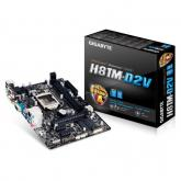 Placa de baza Gigabyte H81M-D2V, Intel H81, socket 1150, mATX
