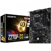Placa de baza Gigabyte Z270P-D3, Intel Z270, socket 1151, ATX, bulk, fara accesorii