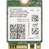 Placa de retea wireless Intel Dual Band 7265,  M.2