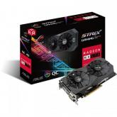 Placa video Asus AMD Radeon RX 570 STRIX GAMING O4G 4GB, DDR5, 256bit