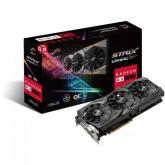 Placa video ASUS AMD Radeon RX 580 STRIX GAMING O8G 8GB, GDDR5, 256bit