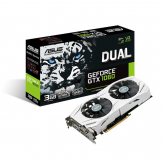 Placa video Asus nVidia GeForce GTX 1060 Dual 3GB, DDR5, 192bit