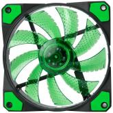 Ventilator Marvo FN-10 green LED, 120mm