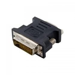 Adaptor 4World 08742 DVI-I Male - VGA Female, Black