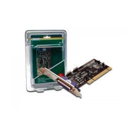 Adaptor Digitus DS-33040 PCI - Serial (2 porturi) + Paralel (1 port)