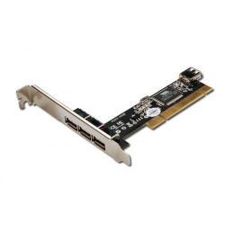 Adaptor Digitus DS-33221 PCI - USB 2.0, 3+1 porturi