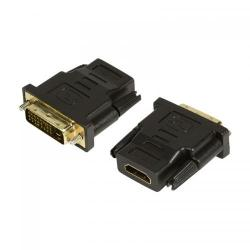 Adaptor Logilink 1x DVI-D Male - 1x HDMI Female, negru