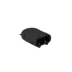 Adaptor LogiLink Micro USB B/Male - USB A/Female OTG, Black