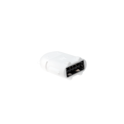 Adaptor LogiLink Micro USB B/Male - USB A/Female OTG, White