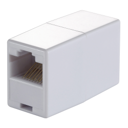 Adaptor LogiLink MP0031, RJ45-RJ45, White