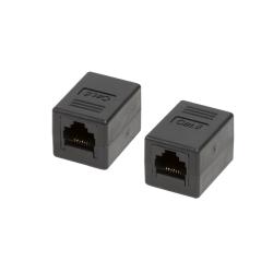 Adaptor LogiLink NP0034A, RJ45-RJ45, Black