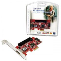 Adaptor Logilink PC0002 PCI-Express - eSATA II + SATA II + ATA133