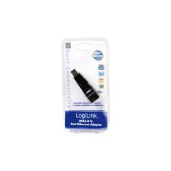 Adaptor LogiLink UA0025C USB2.0/Rj-45