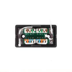 Adaptor Netrack cord coupler Krone IDC-Krone-IDC, cat.5e, UTP