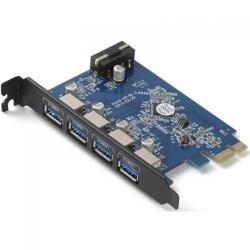 Adaptor Orico PVU3-4P PCI-Express - USB 3.0, 4 porturi