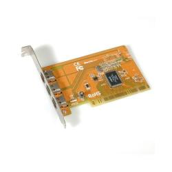 Adaptor Roline 15.99.2182 PCI - FireWire Value IEEE1394, 3 porturi