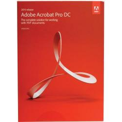 Adobe Acrobat Pro DC 2015, WIN/MAC, International English, 1 User Upgrade License