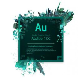 Adobe Audition CC, WIN/MAC, English, Licensing Subscription, 1 User, 1 Year