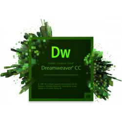 Adobe Dreamweaver CC, WIN/MAC, English, Licensing Subscription Renewal, 1 User, 1 Year
