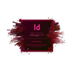 Adobe InDesign CC, WIN/MAC, Multi European Languages, Licensing Subscription Renewal, 1 User, 1 Year