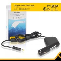 Alimentator auto Whitenergy 05508 18.5V/4.9A, 90W, conector 4.8x1.7mm, Compaq