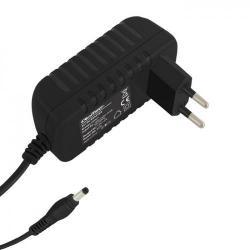 Alimentator Qoltec 50007.24W, 24W, 12V, 5.5x2.1, 1.4m, pentru laptop-uri, monitoare LCD, routere si alte echipamente de telecomunicatii