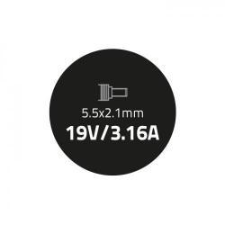 Alimentator Qoltec 51501.60W pentru Laptop Acer, 60W