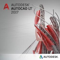Autodesk AutoCAD LT 2017 Commercial, Subscriptie 1 an, Advanced Support, International Multilanguage, Electronic