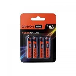 Baterie Canyon Alkaline AA, 4 bucati