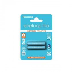 Baterie Panasonic Eneloop Lite R03/AAA 550mAh, 2 Pcs, Blister