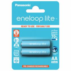 Baterie Panasonic Eneloop Lite R6/AA 950mAh, 2 Pcs, Blister