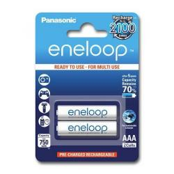 Baterie Panasonic Eneloop R03/AAA 750mAh, 2 Pcs, Blister