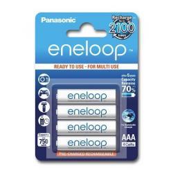 Baterie Panasonic Eneloop R03/AAA 750mAh, 4 Pcs, Blister