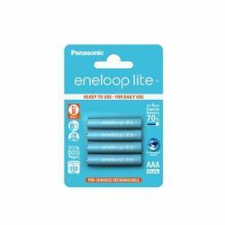 Baterii Panasonic Eneloop Lite, 4 Bucati R03/AAA, 550mAh, , Blister