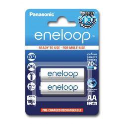 Baterii Panasonic Eneloop R6/AA 1900mAh, 2 Pcs, Blister