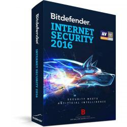 BitDefender Internet Security 2016 3 user/1 an, Base Retail