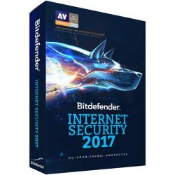 Bitdefender Internet Security 2017 3 user/1 an, Base Retail