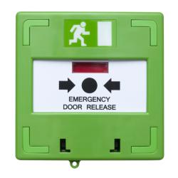 Buton iesire de urgenta cu 3 comutatoare SCP-100G, Green