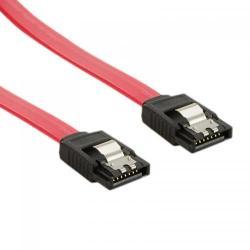 Cablu 4World, cablu de date intern SATA 3, 20cm, drept, rosu