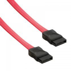Cablu 4World, cablu de date intern SATA, 90cm, drept, rosu