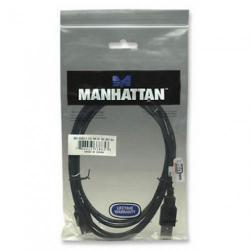 Cablu prelungitor Hi-Speed Manhattan USB A Male - USB A Female, 50cm