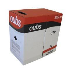 Cablu Qubs UTP cat.6, PVC, 1m