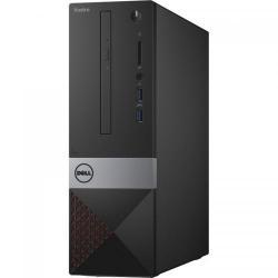 Calculator Dell Vostro 3252 SFF, Intel Celeron Quad Core J3160, RAM 4GB, HDD 500GB, Intel HD Graphics 400, Black