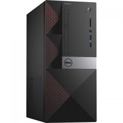 Calculator Dell Vostro 3650 MT, Intel Pentium G4400 Dual Core, RAm 4GB, HDD 500GB, Intel HD Graphics 510, Linux, Black