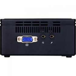 Calculator GIGABYTE BRIX GB-BACE-3160, Intel Celeron Quad Core J3160, No RAM, No HDD, Intel HD Graphics 400, Free DOS, Black