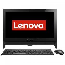 Calculator Lenovo IdeaCentre C20 AIO, Intel Celeron Quad Core J3160, 19.5inch, RAM 4GB, HDD 500GB, Intel HD Graphics 400, Free Dos, Black