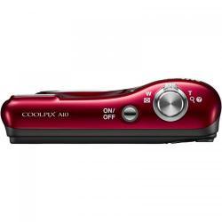 Camera Foto Compacta Nikon COOLPIX A10, 16.1MP, Red