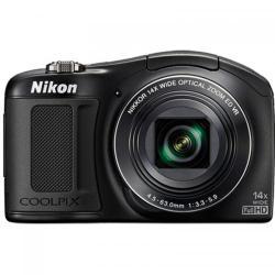 Camera Foto compacta Nikon COOLPIX L620, 18.1Mp, Black
